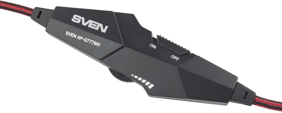 На 100 очков ближе к победе: обзор игровой гарнитуры SVEN AP-G777MV
