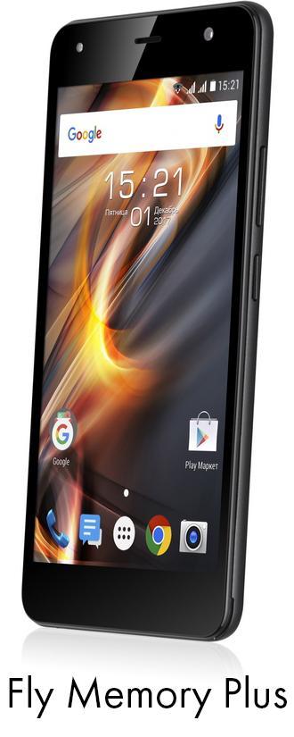 Новый смартфон Fly Memory Plus (FS528) за 5990 под Новый год