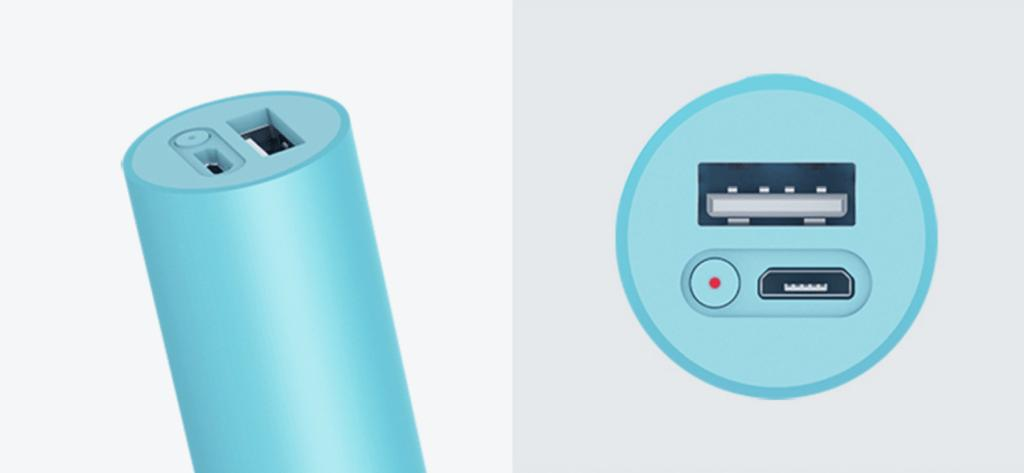 Новый внешний аккумулятор ZMI Power Bank Mini от Xiaomi размером с батарейку AA