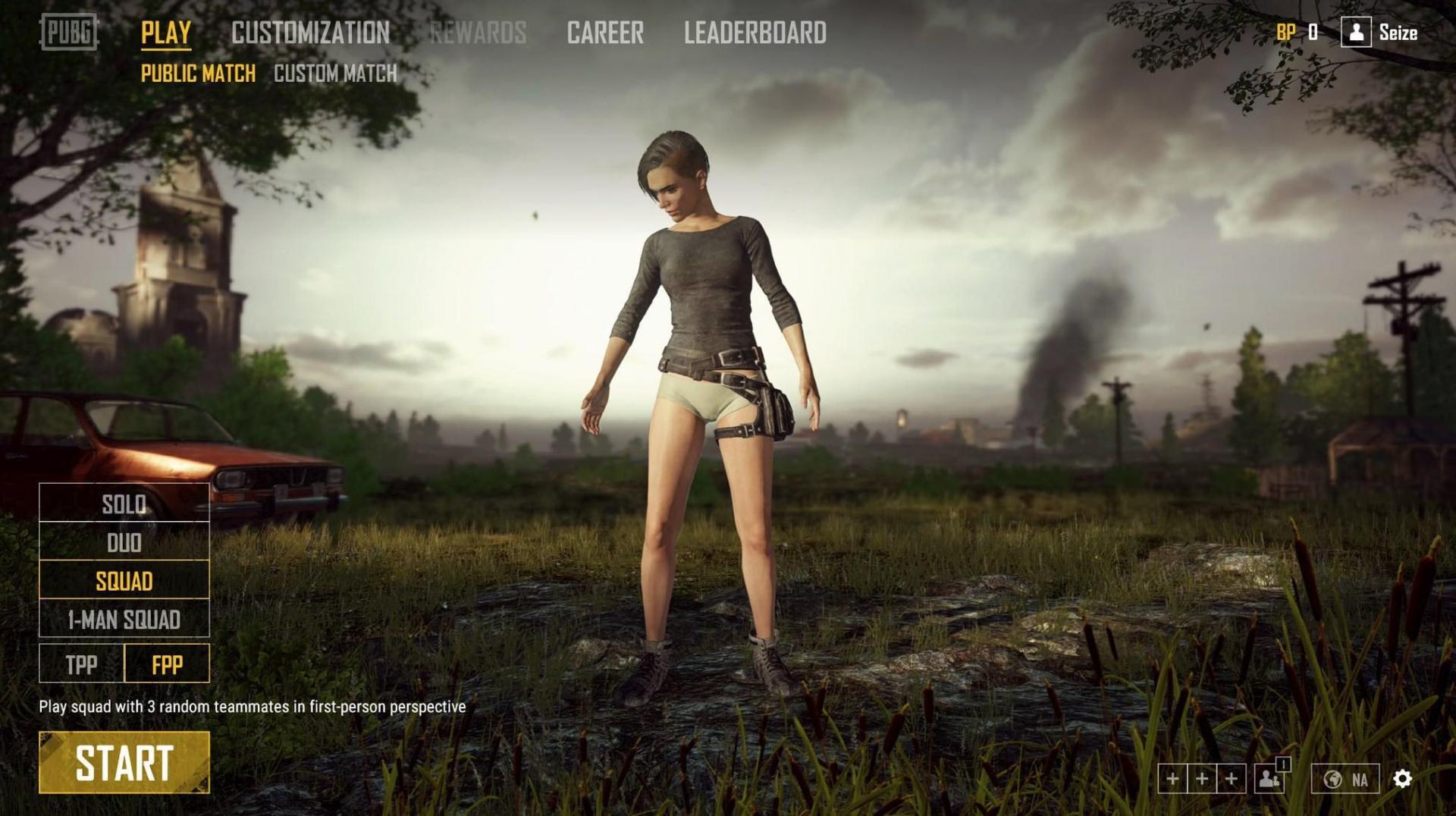Разработчики PUBG извиняются за слишком красивые женские тела в игре