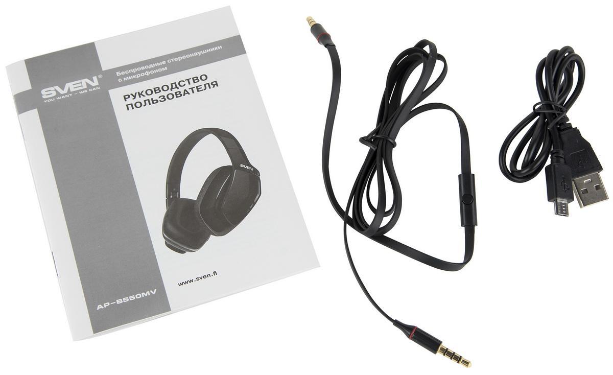 Складной корпус, Bluetooth и подсветка: тестируем гарнитуру SVEN AP-B550MV