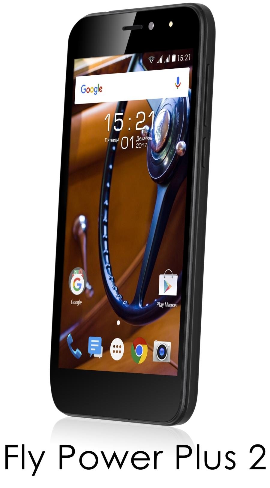 Смартфон Fly Power Plus 2 поступает в продажу в России за 6490 рублей