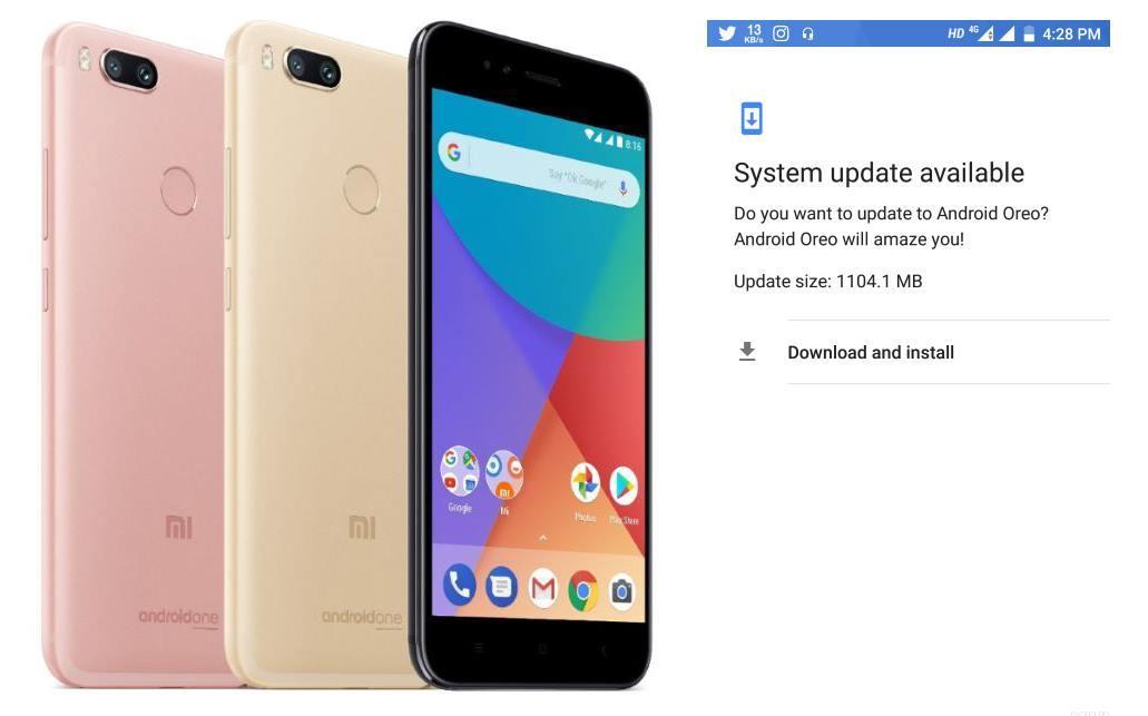 Xiaomi Mi A1 начал получать бета-версию прошивки с Android Oreo