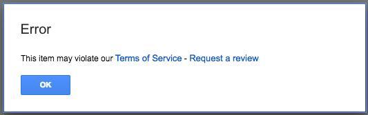 Google Drive начал борьбу с пиратским контентом