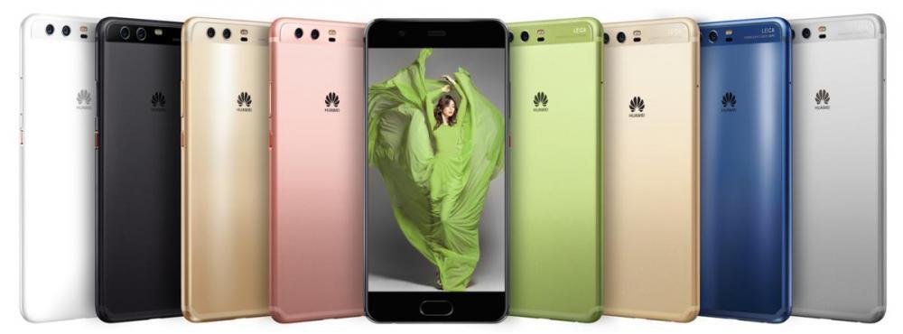 Huawei P10 и P10 Plus показали на MWC 2017