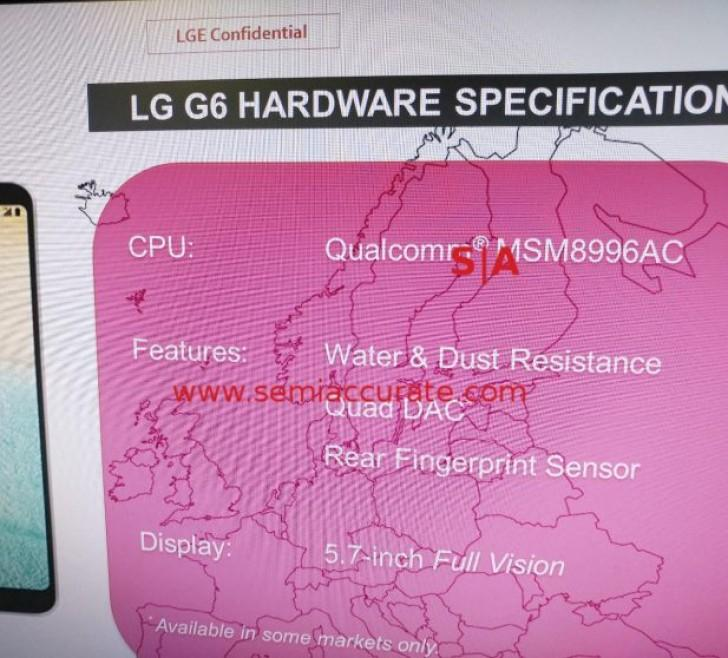 LG подтвердила Qualcomm Snapdragon 821 для G6