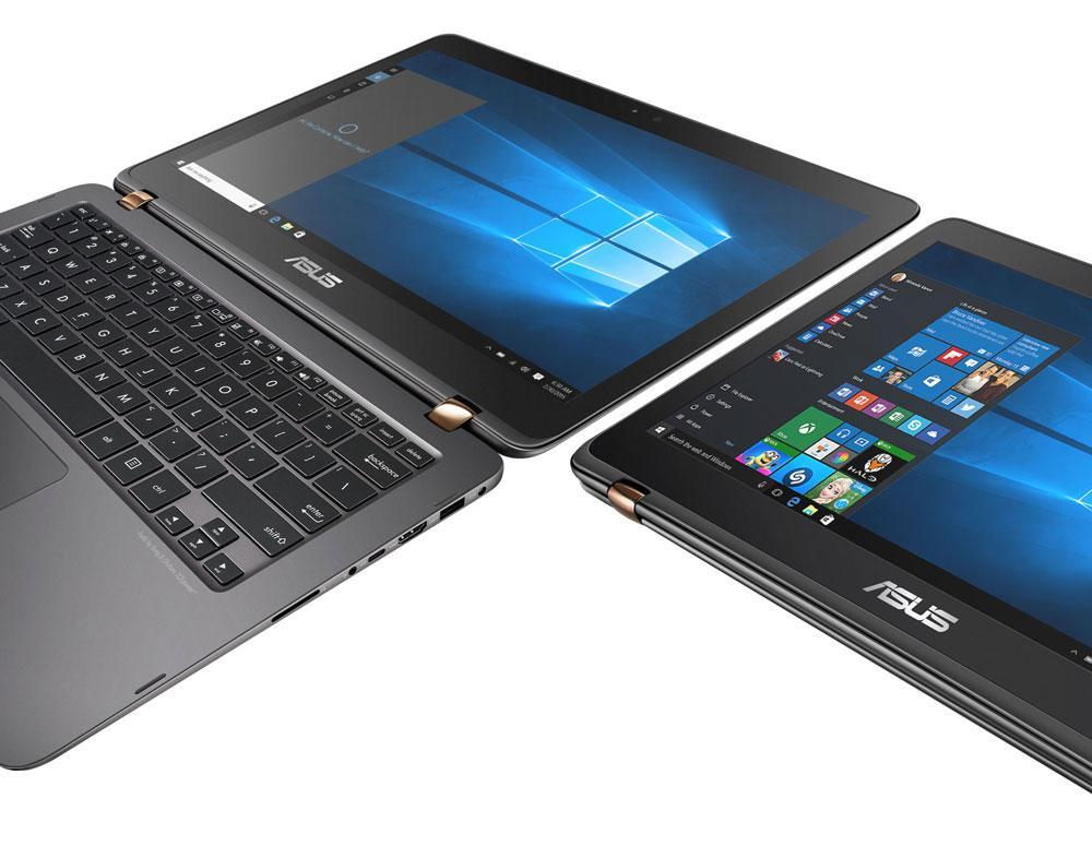 Лёгкий и гибкий ультрабук Asus Zenbook Flip UX360CA