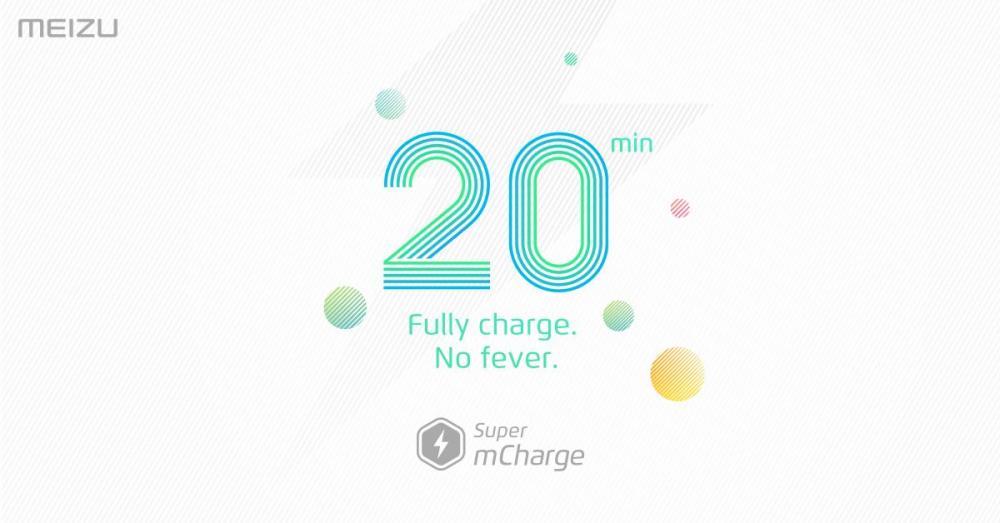 Meizu анонсировала технологию быстрой зарядки Super mCharge
