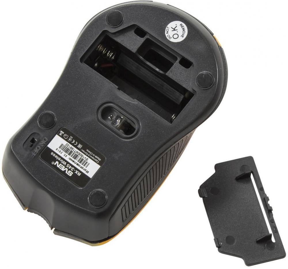 Разбавить серые будни: обзор беспроводной мыши SVEN RX-345