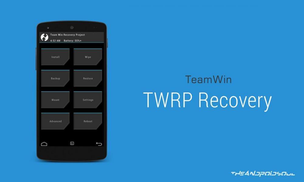 TWRP Recovery научится бекапить данные на PC