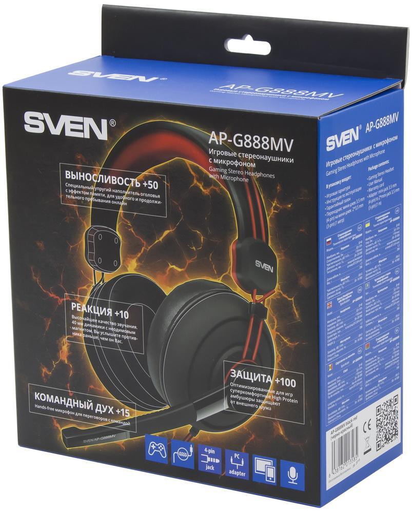 50 очков к выносливости, 100 – к защите: тестирование игровой гарнитуры SVEN AP-G888MV