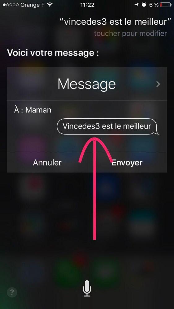 iPhone можно повесить простым сообщением