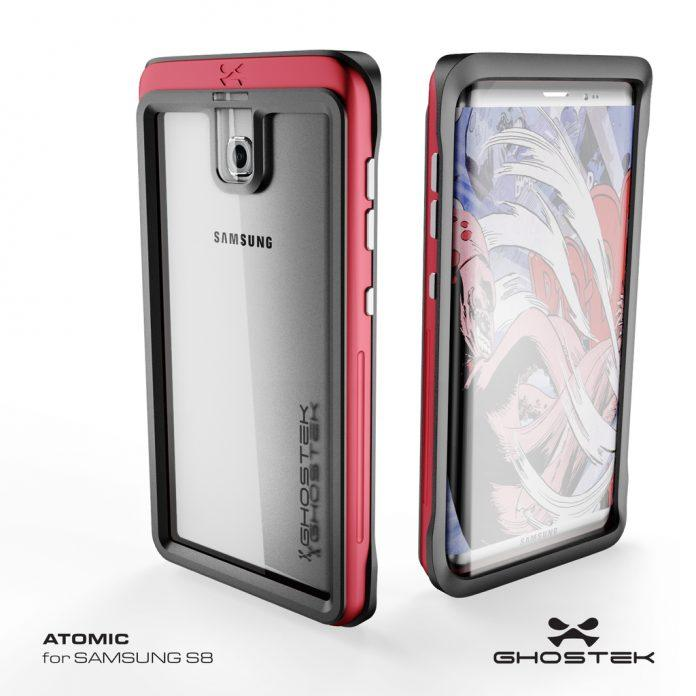Samsung Galaxy S8 на рендерах производителя аксессуаров