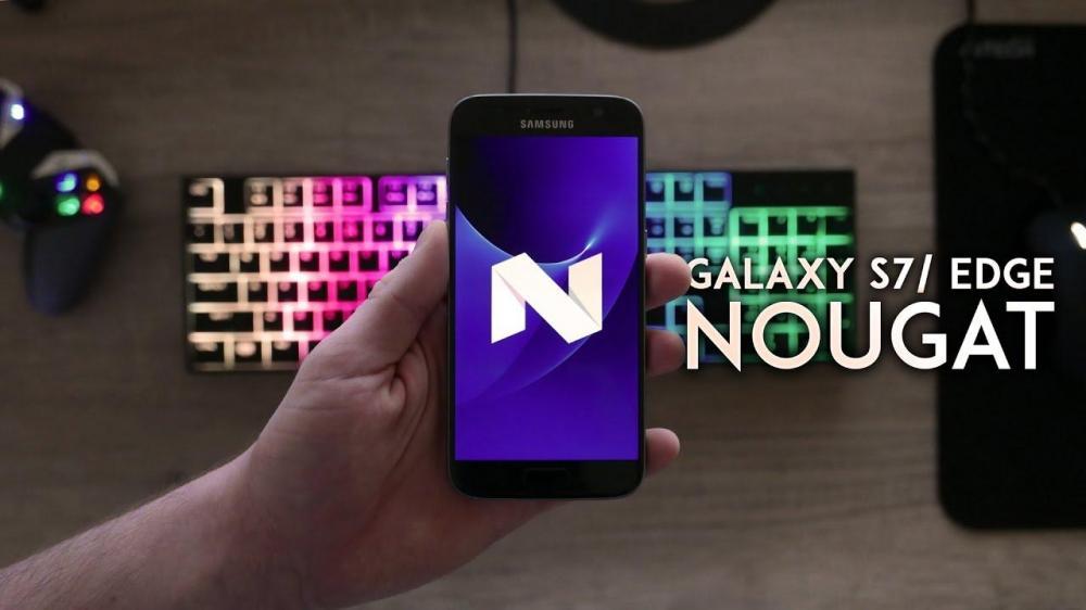 Samsung начала раздачу Nougat для Galaxy S7/Edge в России