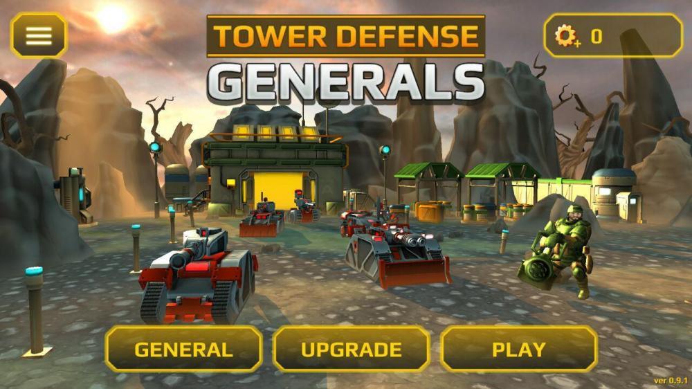 Tower Defense Generals TD - башенная защищалка с генералом