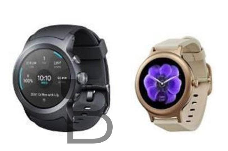 Умные часы от LG Watch Style и LG Watch Sport на фото