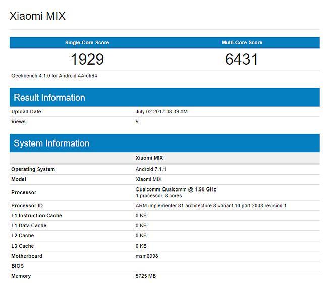 Что мы знаем о Xiaomi Mi Mix 2 сегодня?