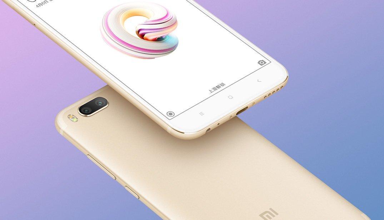 Качественные рендеры смартфона Xiaomi Mi 5X и более 200 тысяч предзаказов