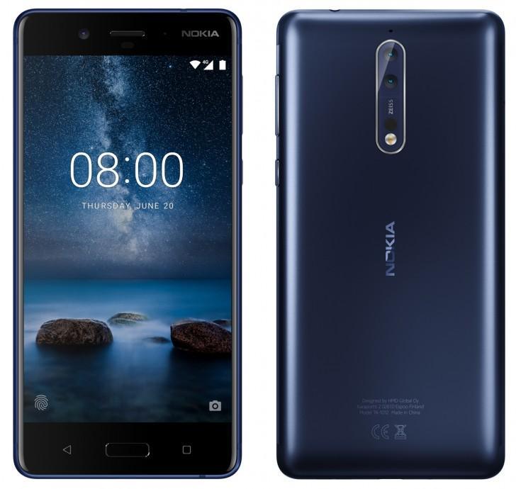 Nokia 8 теперь и на рендерах