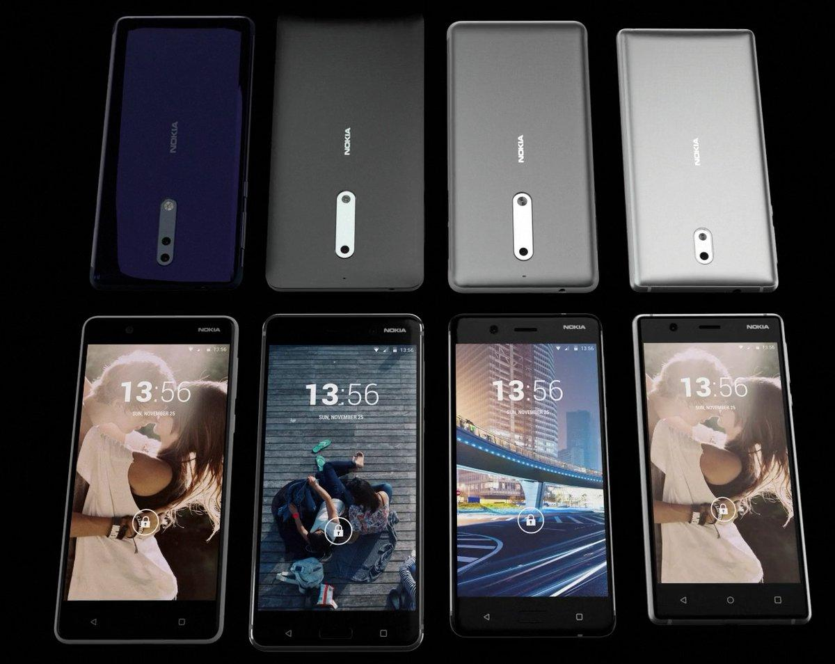 Nokia 8 ждём за 600 долларов, характеристики флагмана