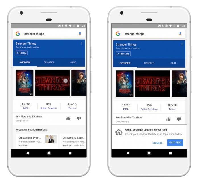 Google запустила адаптированную под запросы пользователей ленту новостей