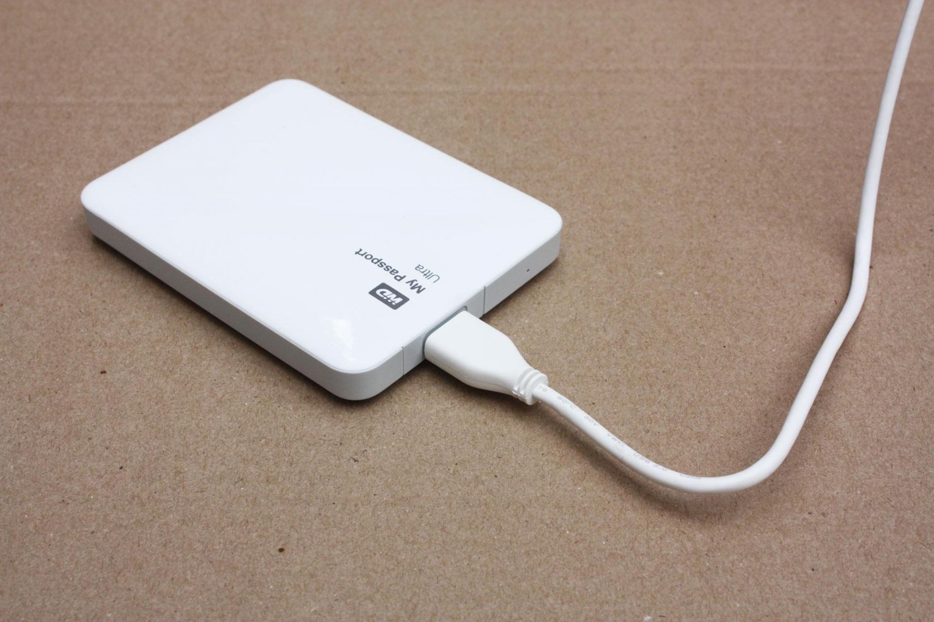 Обзор внешнего жёсткого диска Western Digital My Passport Ultra 500 GB