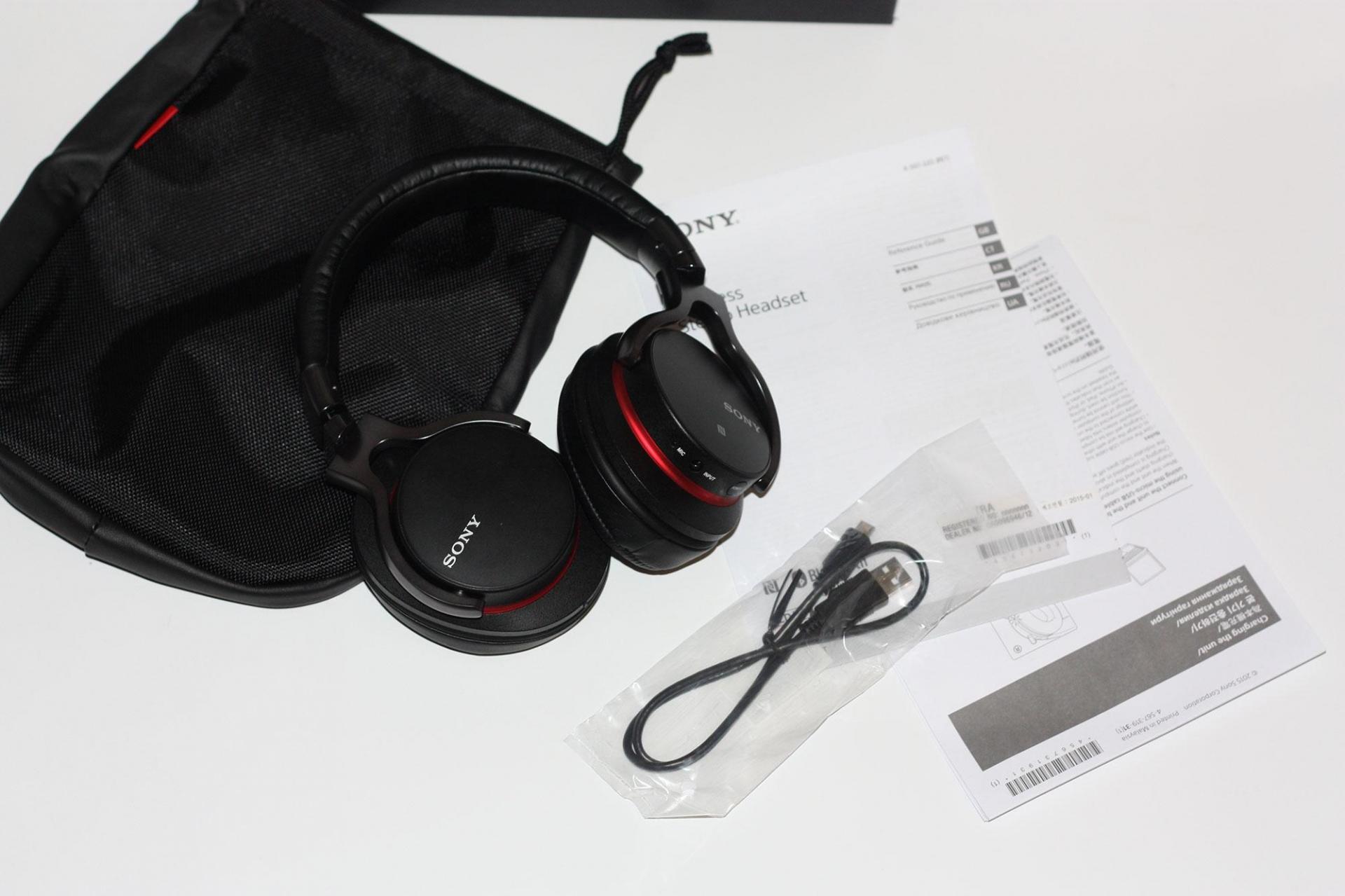 Отзыв об использовании беспроводных наушников Sony MDR-1ABT