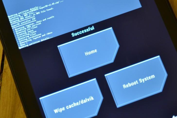 Кастомное рекавери TWRP 3.1 с PC-бекапами и шифрованием