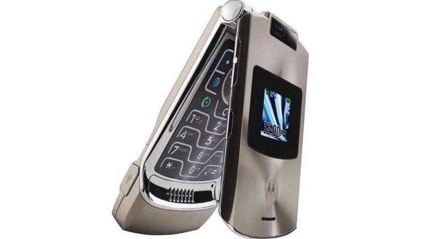Lenovo думает переродить модель Motorola Razr V3