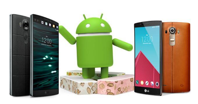 LG G4 и V10 получат Android Nougat во второй половине 2017 года