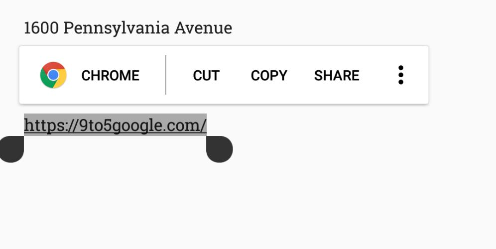 Новые фишки копирования текста в Android O