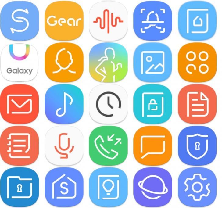 Новый интерфейс смартфонов Samsung, начиная с Galaxy S8