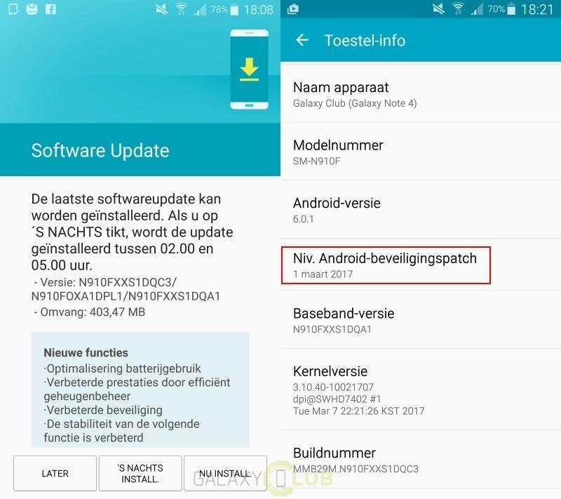 Обновление Galaxy Note 4 положительно влияет на аккумулятор