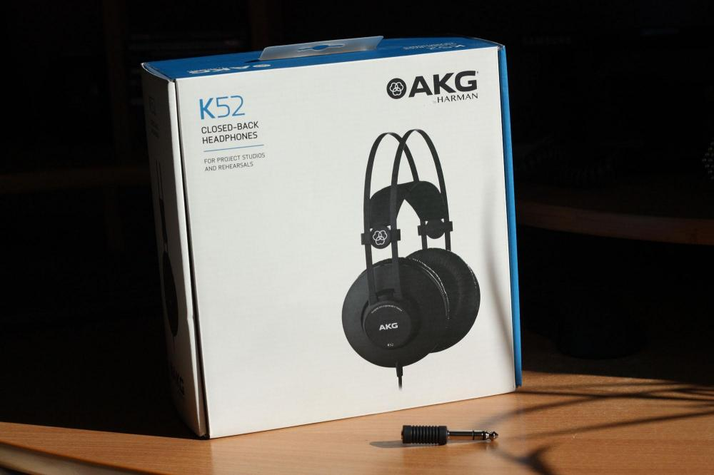 Рассматриваем и пробуем наушники AKG K52