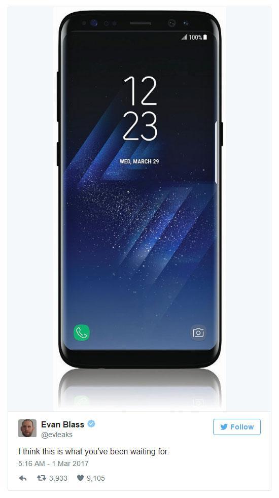 Samsung Galaxy S8 чётче дальше некуда