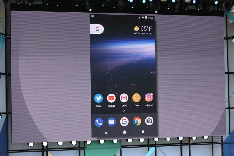 Android O официально на Google I/O