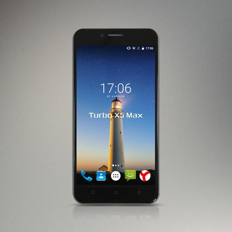 Долгоиграющий смартфон Turbo X5 Max