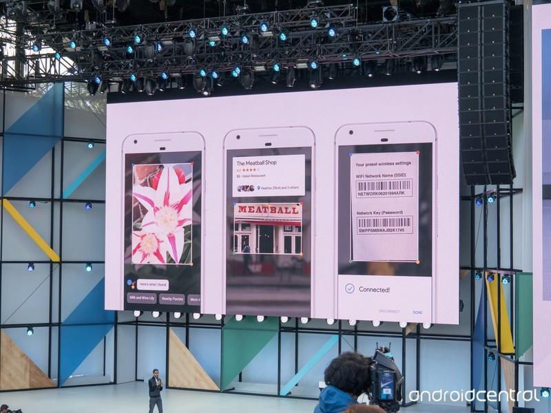 Google Lens - систему визуального поиска показали на Google I/O 2017