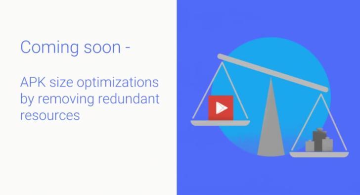 Google займётся оптимизацией размера приложений в Play Store