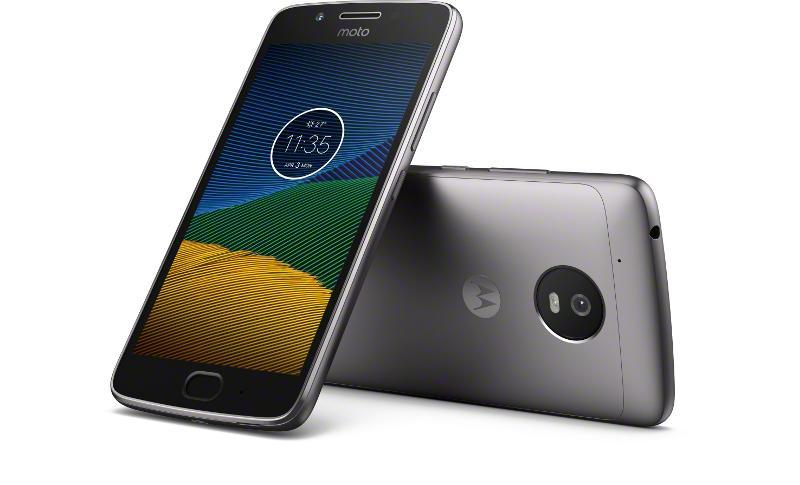 Lenovo запускает в продажу Motorola G5
