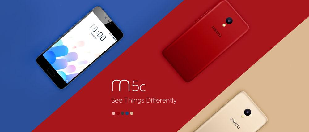 Meizu M5C поступает в продажу в России