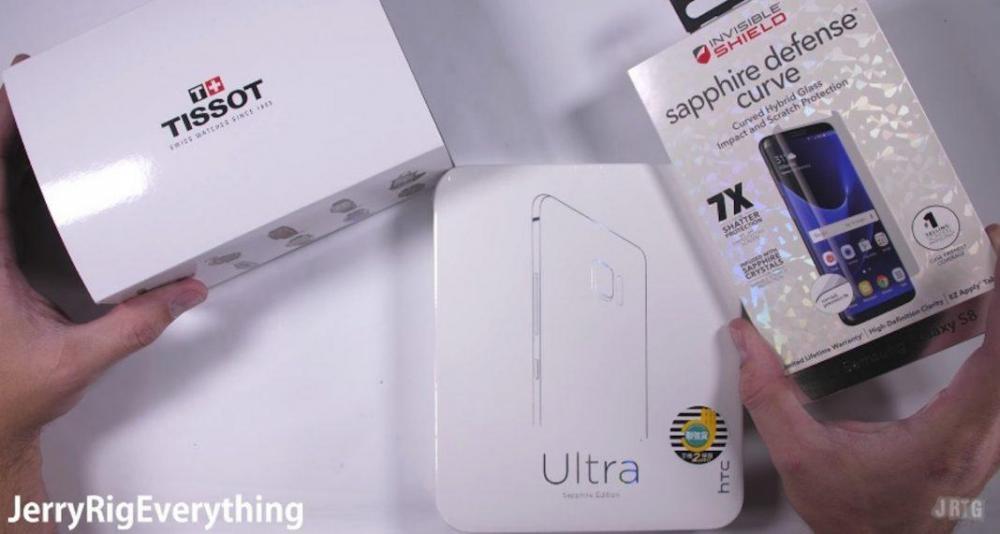 Можно ли поцарапать сапфировое стекло HTC U Ultra? Проверим!