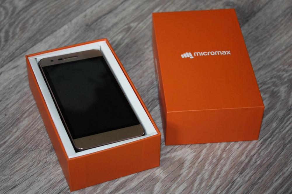 Обзор не дорого смартфона Micromax Q3551