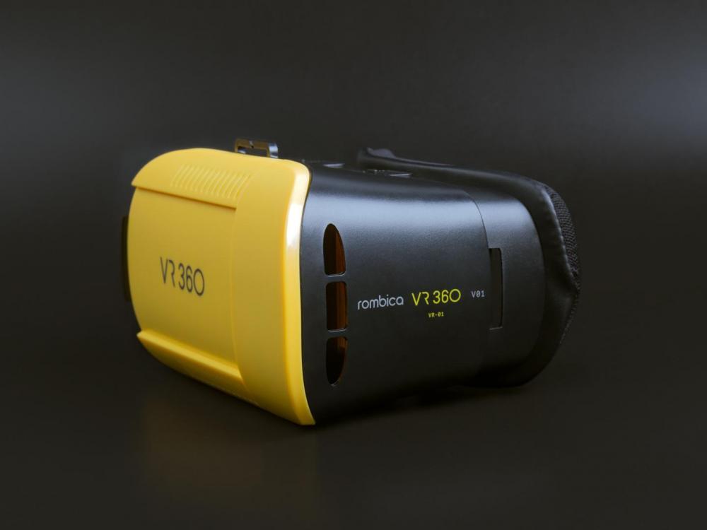 Обзор шлемов виртуальной реальности Rombica VR01/02