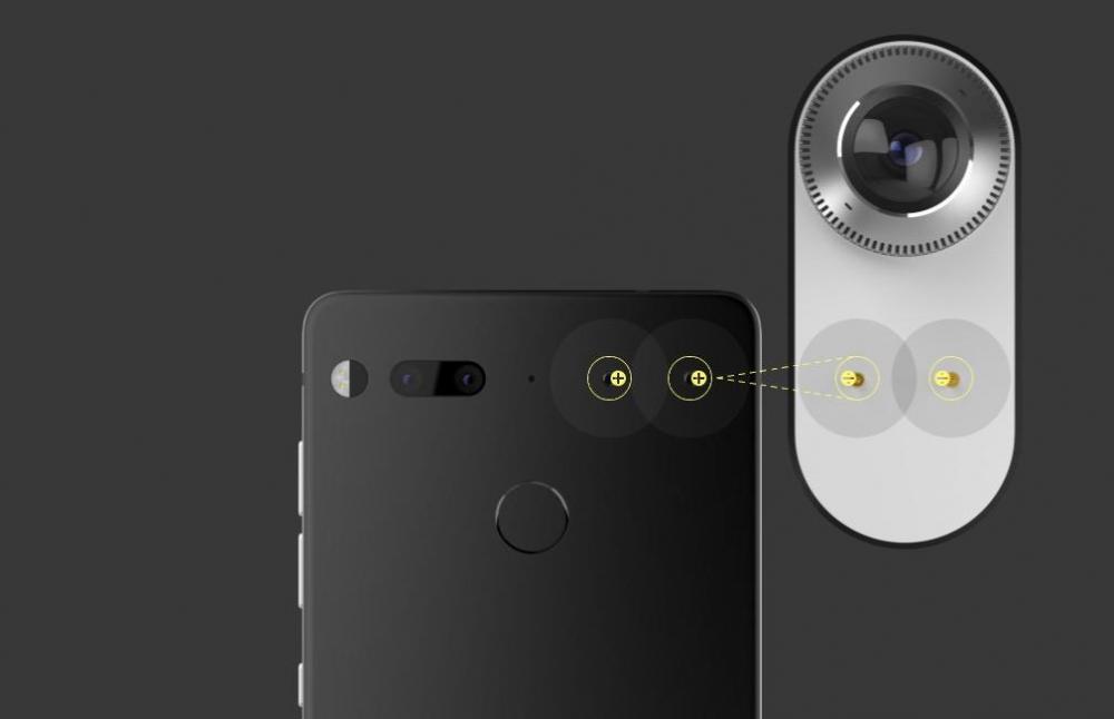 Первый смартфон Энди Рубина и Essential Products официально
