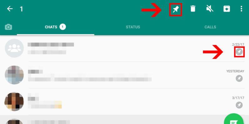 WhatsApp разрешит прикреплять чаты контактов