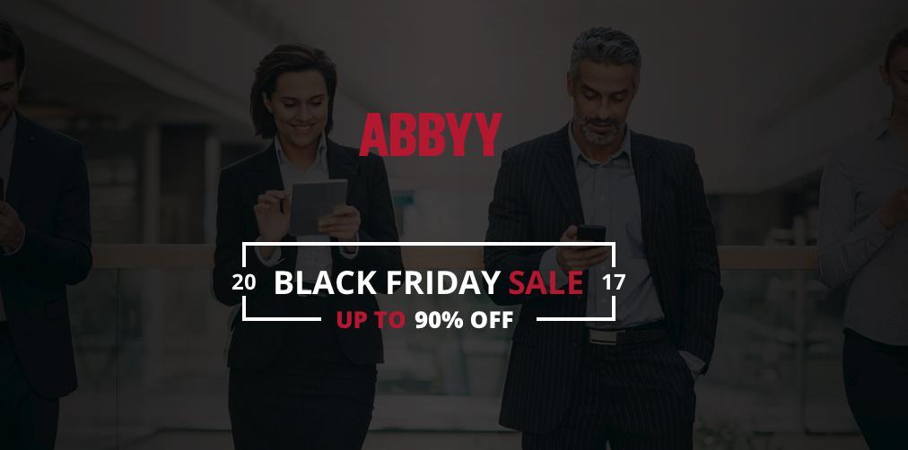 ABBYY объявила скидку 90% на некоторые свои продукты