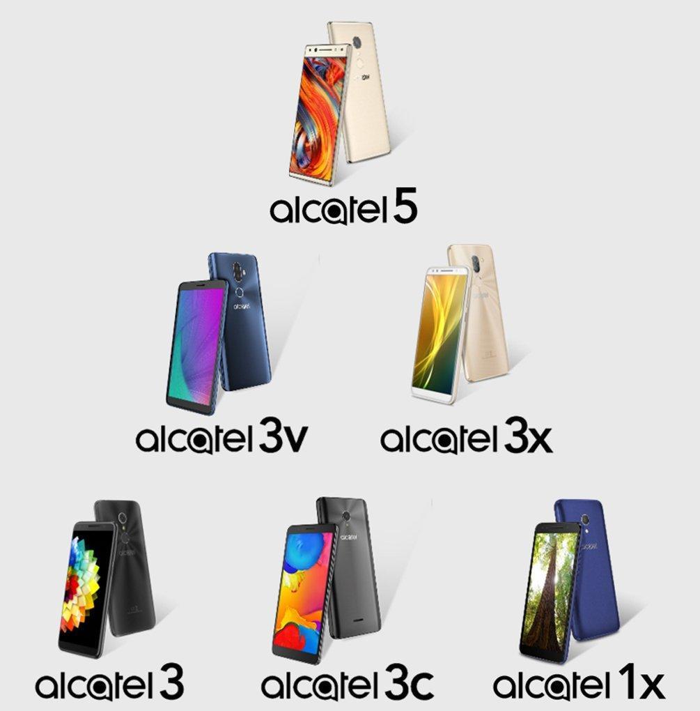 Alactel готовится удивить набором новых смартфонов