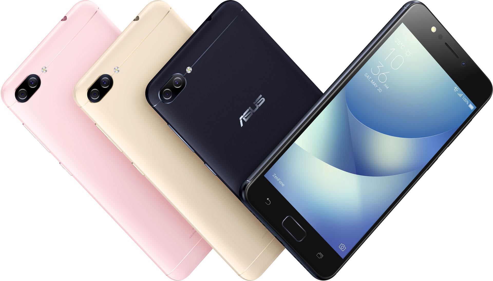 Asus представила ZenFone 4 Max (ZC520KL)
