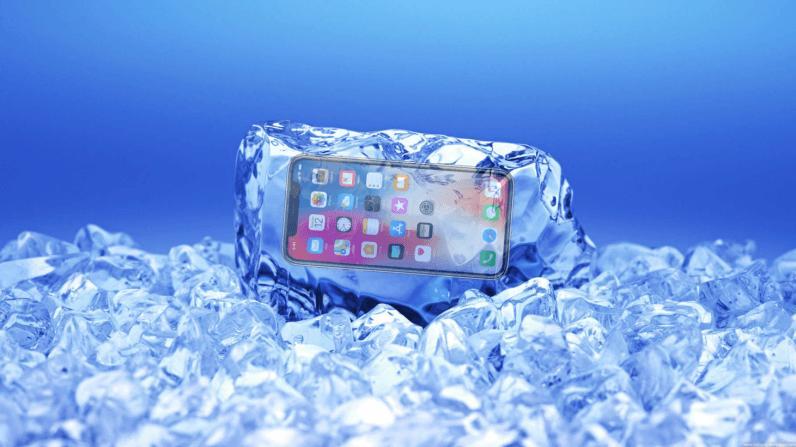 Экран iPhone X перестаёт реагировать на тапы при низких теппературах